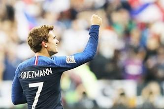 Дубль Гризманна принес французам победу в матче с Германией