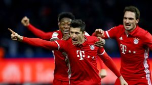 Бавария - Вольфсбург. Прогноз на матч Бундеслиги (09.03.2019)