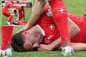 Игрок сборной Швейцарии потерял сознание и начал задыхаться. Его спас Жано