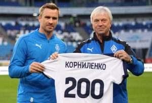 «Крылья Советов» поздравили Корниленко с 200-м матчем за клуб
